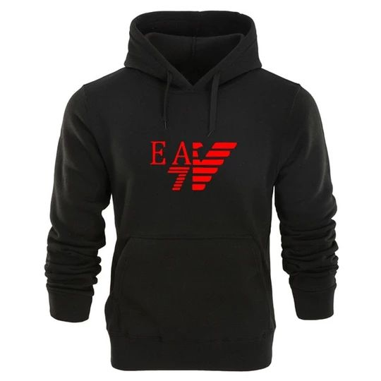 Fashion printed new men's cotton hoodies DAP