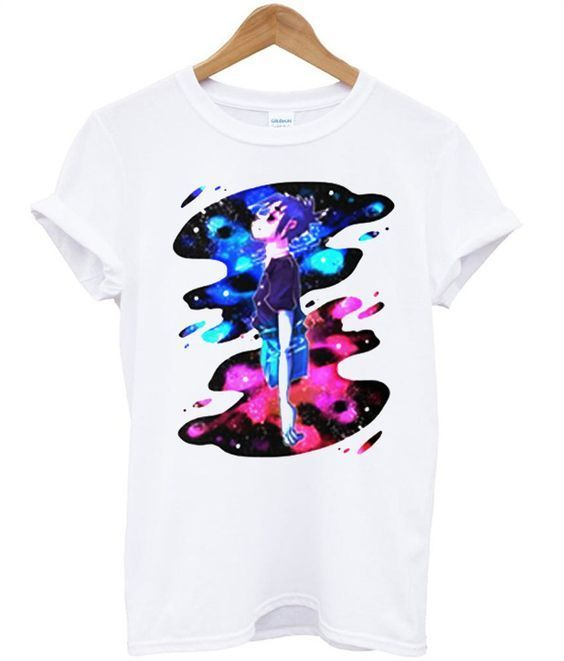 Gorillaz Colorfull T shirt DAP