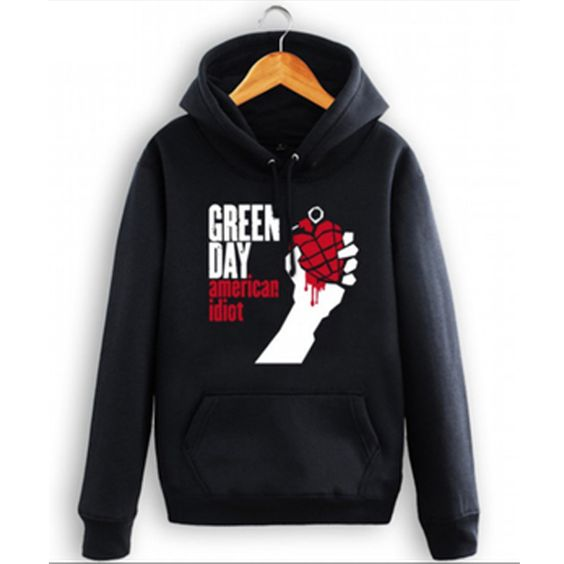 Green Day American Idiot Hoodie DAP