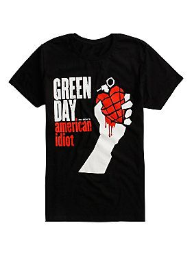 Green Day American Idiot T-Shirt DAP