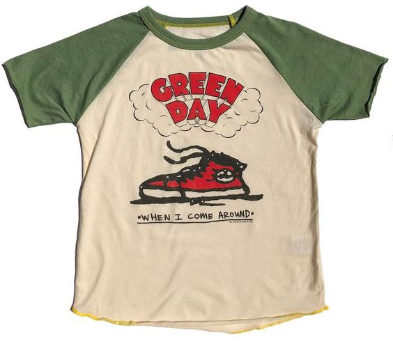 Green Day Short Tshirt DAP