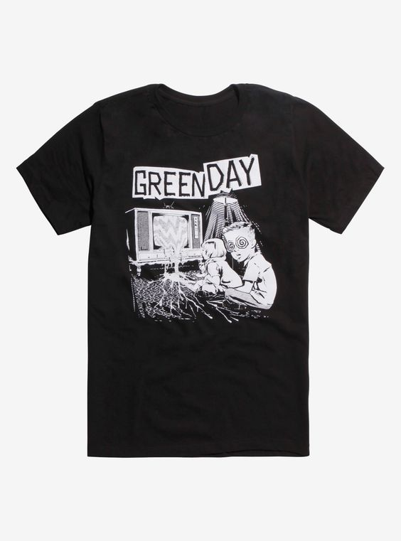 Green Day Tshirt DAP