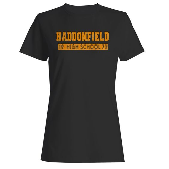 Haddonfield High School Halloween Movie Michael Myers Woman's T-Shirt DAP