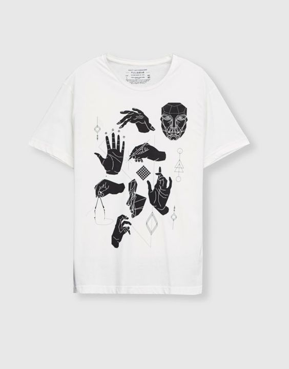 Hand icons T-shirt DAP