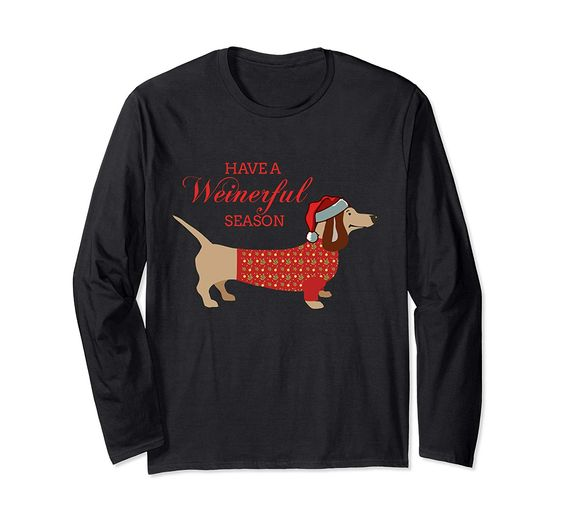 Have a Weinerful Season Sweatshirt DAP