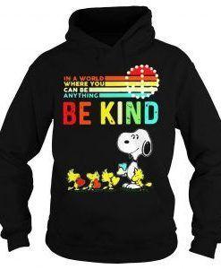Snoopy Be kind hoodie DAP