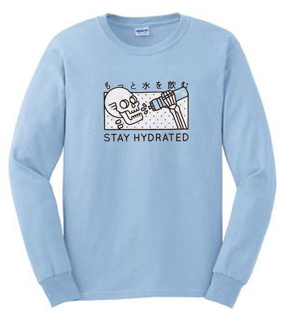 Stay Hydrated Skull Sweatshirt DAP