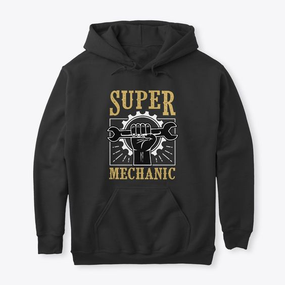 Super Mechanic Engineer Hoodie DAP