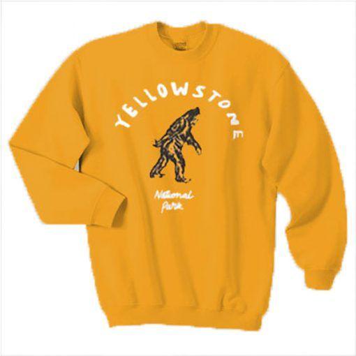 Yellowstone National Park Sweatshirt DAP