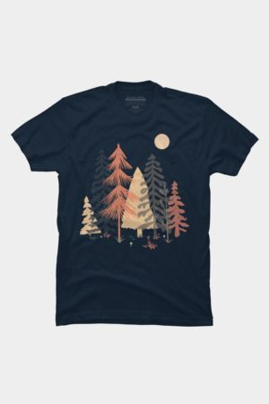 A Spot in the Wood....TshirtDAP