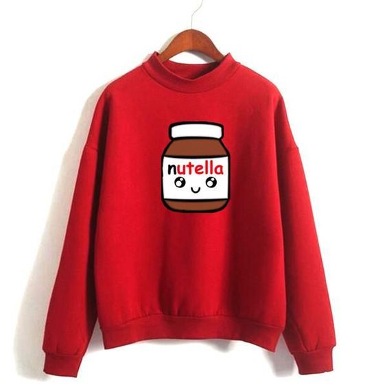 Fashion Nutella 2 Sweatshirts DAP