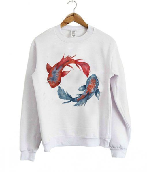 Koi-Fish-Sweatshirt DAP