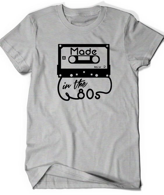 Made in the 80s T-Shirt DAP