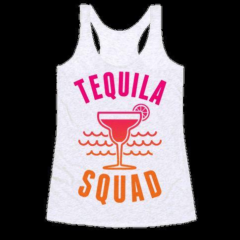 Tequila Squad Racerback Tank Tops DAP