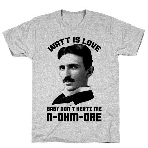 Watt Is Love T-Shirts DAP
