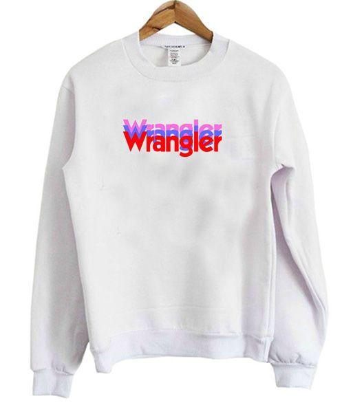 Wrangler Rainbow Sweatshirt DAP