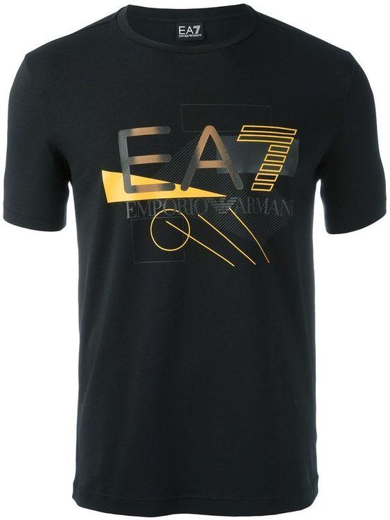 Ea7 Emporio Armani Printed T-Shirt DAP
