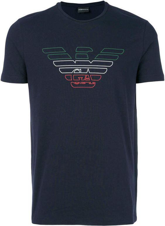 Emporio Armani Logo Printed T-shirt DAP