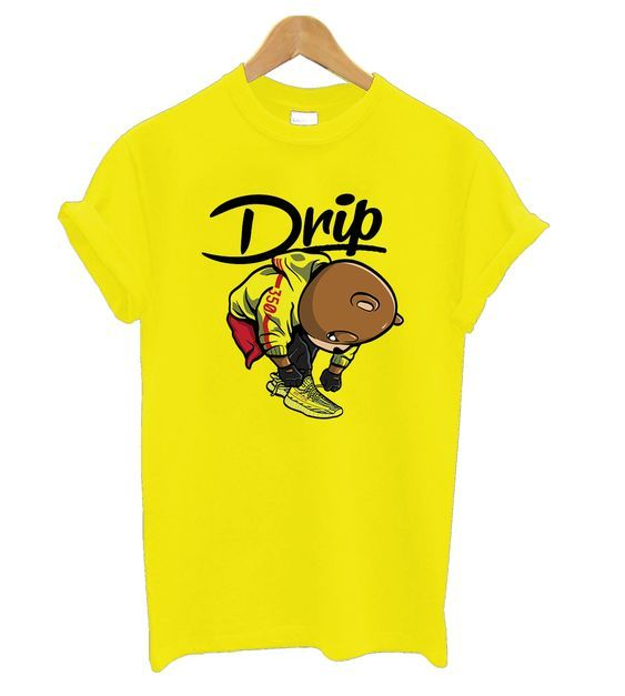 Frozen Yellow Yeezys – New Drip t shirt DAP