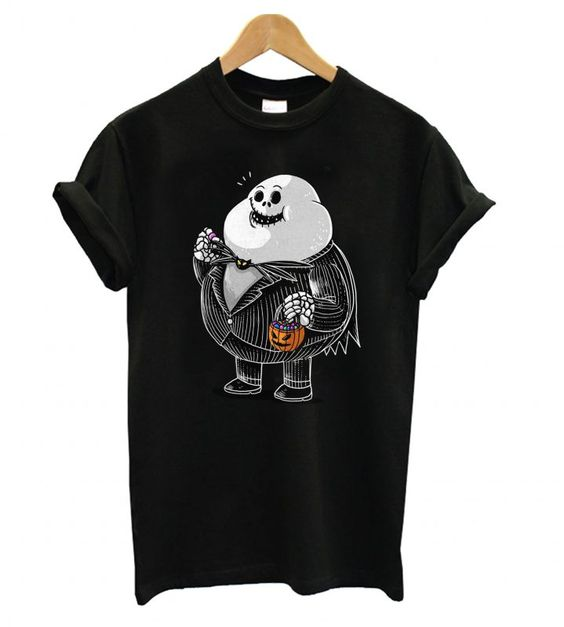 Jack Skellington from the Famous Chunkies T shirt DAP