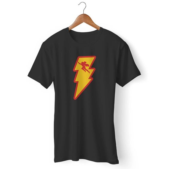 Shazam Logo Dc Comics Man's T-Shirt DAP