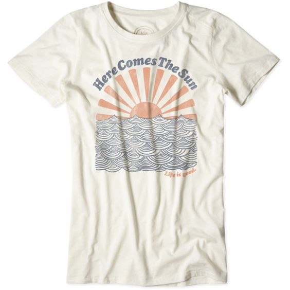 Women's Here Comes The Sun Cool TeeShirtDAP