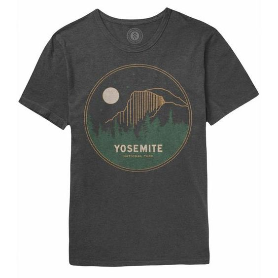 Yosemite Mod Dome Night TeeShirtDAP