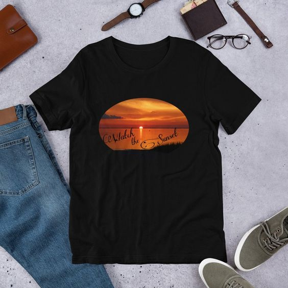 Adult Watch the SunsetTSHIRTDAP