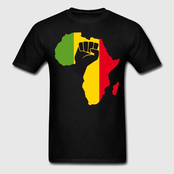 African Black Power Men's T-Shirt DAP