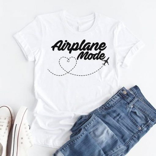 Airplane mode T shirtDAP
