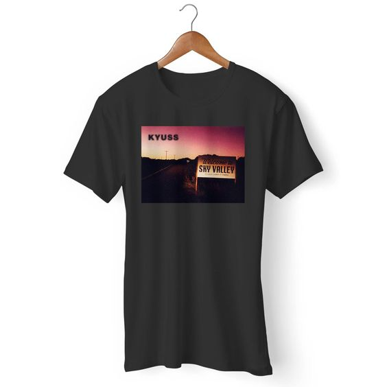 Kyuss To Sky Valley Man's T-Shirt DAP