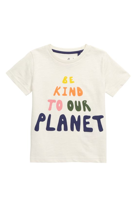 Mini Boden Be Kind to Our Planet TeeShirtDAP