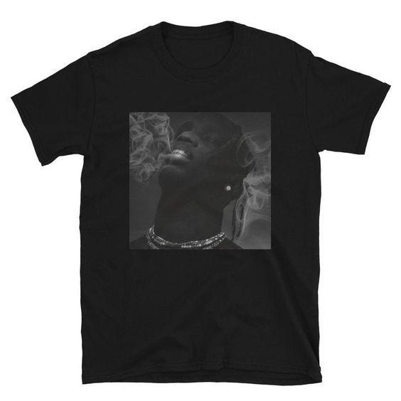 Astroworld Travis Scott Smoke x t shirt DAP