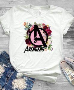 Avengers Floral T-Shirt DAP