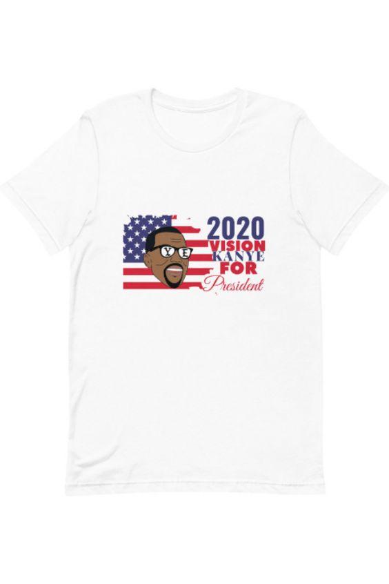 Kanye West 2020 Campaign T-Shirt DAP